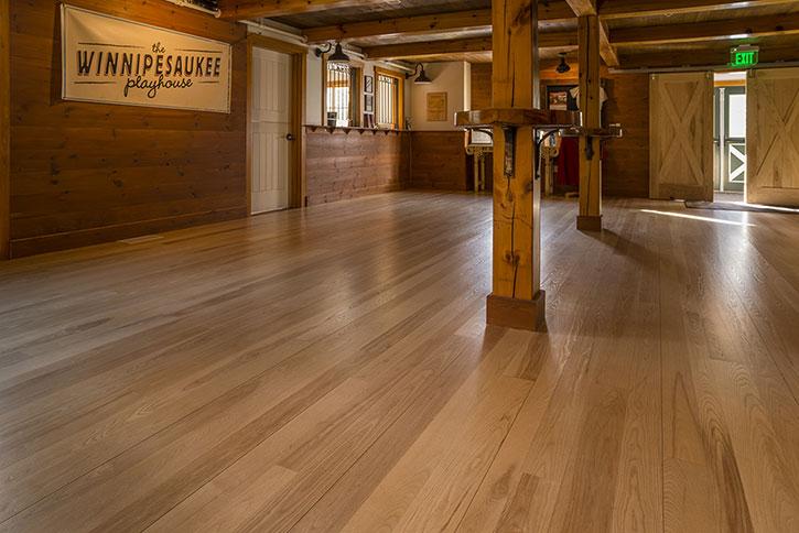 Custom Ash Hardwood Flooring Ponders Hollow Custom Wood