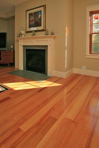 Red Oak Wide Plank Hardwood Flooring Ponders Hollow Custom Wood