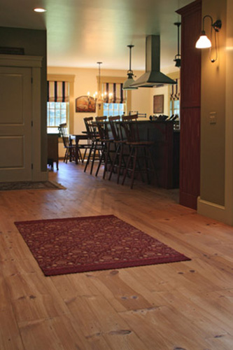 Custom Red Pine Wide Plank Flooring Ponders Hollow