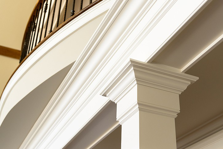 Painted Trim and Mouldings.