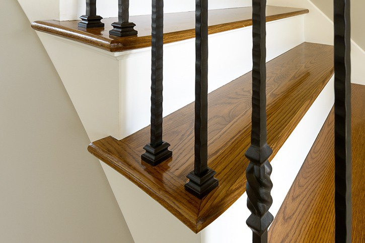 Walnut Staircase.