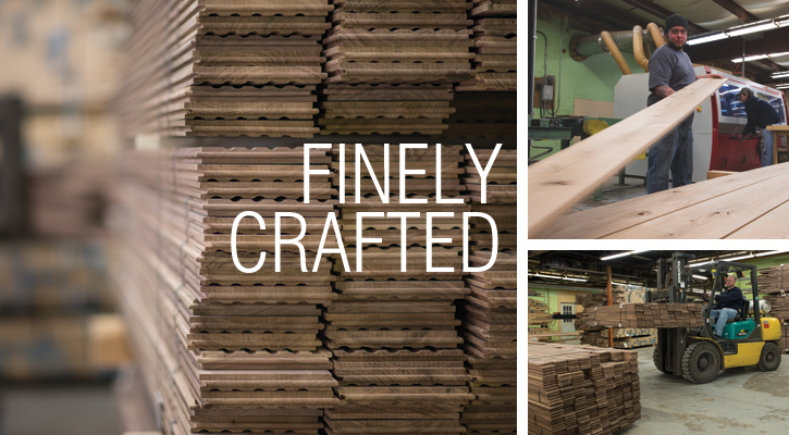 Finely crafted wood flooring by Ponders Hollow