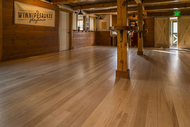 Custom Ash Hardwood Flooring Ponders Hollow Wood Millwork Westfield Ma