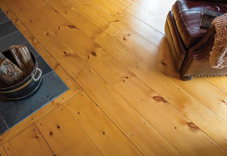 Eastern White Pine Wide Plank Flooring Ponders Hollow