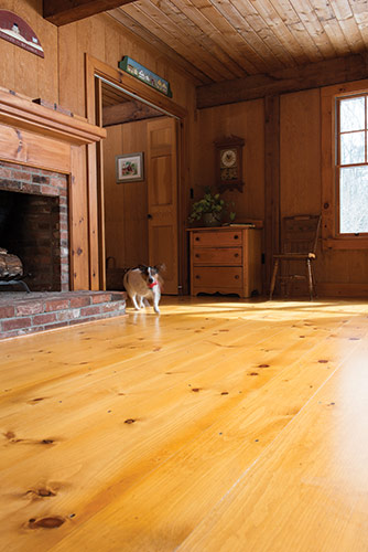 Eastern White Pine Wide Plank Flooring Ponders Hollow Custom Wood Millwork Westfield Ma