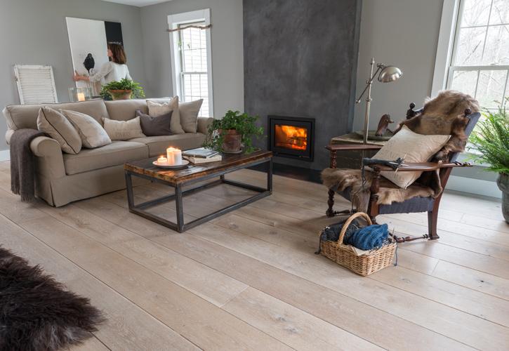 White Oak Wide Plank Hardwood Flooring Ponders Hollow Custom Wood